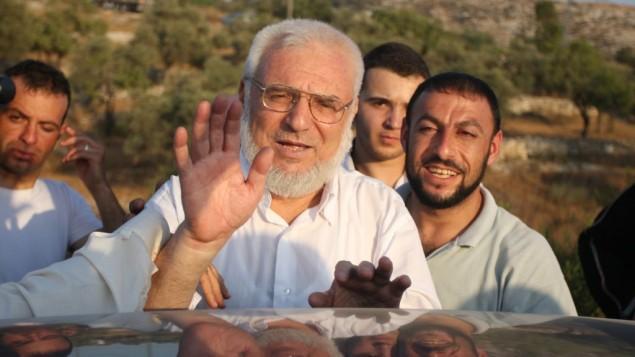 رئيس المجلس التشريعي الفلسطيني عزيز دويك (Issam Rimawi/Flash90)