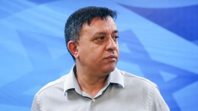 وزير حماية البيئة آفي غاباي. (Marc Israel Sellem/Pool)