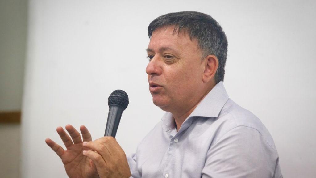 وزير حماية البيئة السابق آفي غاباي في يونيو 2016 (FLASH90)