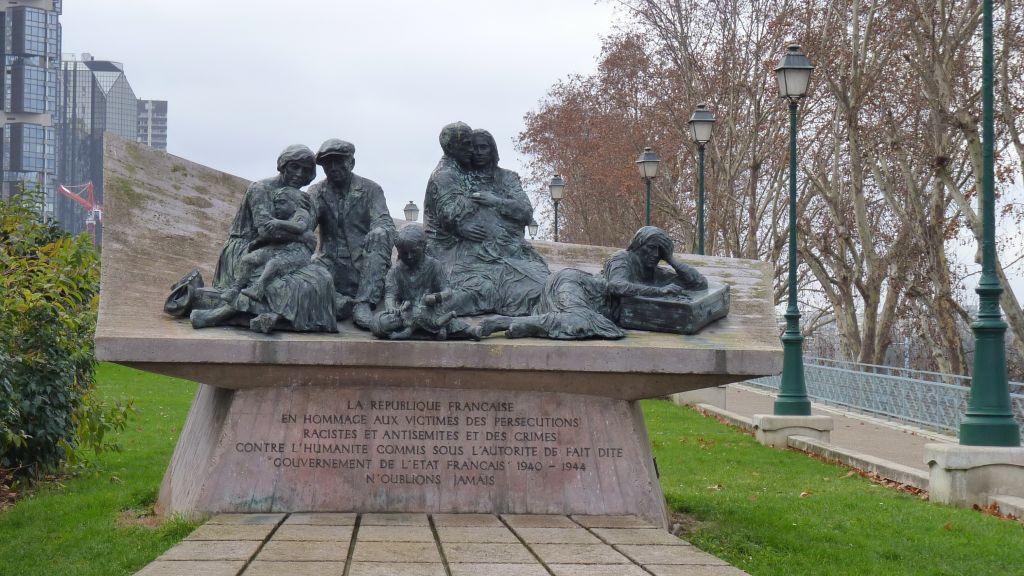نصب تذكاري لاعتقالات فيل ديف في باريس (CC BY-SA Leonieke Aalders, Wikimedia commons)