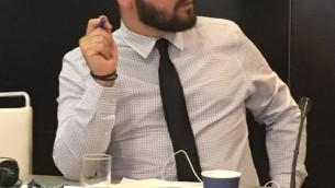 يؤاف يفين، عضو في لجنة التخطيط المحلي وعضو في بلدية القدس (Courtesy)