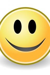 صورة توضيحية لوجه تعبيري مبتسم. (Public Doman: Tango/Wikimedia)