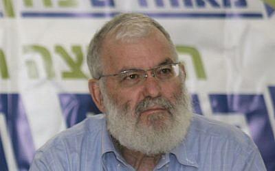 مستشار الأمن القومي السابق يعكوف عميدرور. (Olivier Fitoussi/Flash90)