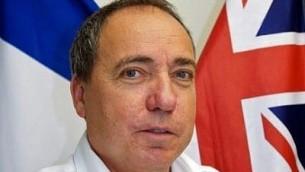 يوفال روتيم، المدير العام لوزارة الخارجية، 13 اكتوبر 2016 (Ministry of Foreign Affairs)