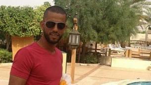 نمر محمود محمد جمل، منفذ الهجوم في مستوطنة هار أدار يوم الثلاثاء، 26 سبتمبر، 2017. (Facebook)