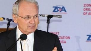 رئيس المنظمة الصهيونية العالمية مورتون ايه كلاين (Joseph Savetsky/courtesy of ZOA)