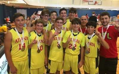 In 2015, Atlanta's Boys 14U basketball team won gold in the JCC Maccabi Games in Dallas