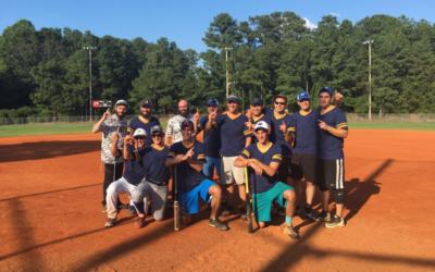 Beth Tefillah won the 2016 synagogue softball A division.