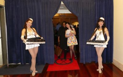 Guests at the lineup preview party get the red-carpet treatment. (Photo by Sarah Moosazadeh)