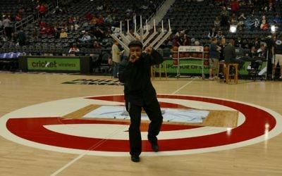 In 2015, local hip-hop artist Prodezra Beats performed at the pregame menorah lighting during Jewish Heritage Night at Phillips Arena.
