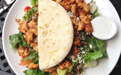 Café Agora does chicken salad right, without all the mayonnaise that weighs down the American version.