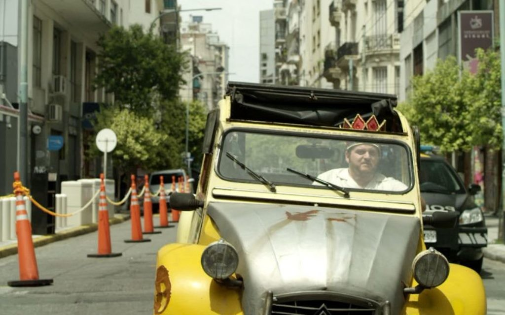 """Ariel (Alan Sabbagh) finds himself fulfilling obligations to the Buenos Aires Jewish community during the Purim season in """"The Tenth Man,"""" showing Feb. 7 at Regal Atlantic Station and Feb. 12 at Lefont Sandy Springs."""