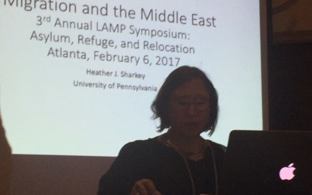 University of Pennsylvania associate professor Heather Sharkey notes that the Middle East's landscape has changed over the centuries.