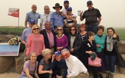 The Zionist Organization of America mission brings Purim joy to Israel.