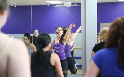 Desiree Nathanson teaches a fitness course at her new studio, Interfusion Fitness.