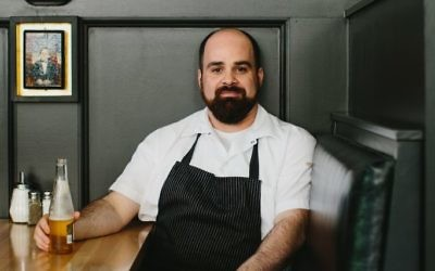 Chef Todd Ginsberg's class during the Atlanta Food & Wine Festival focuses on three Israeli dished made with eggplant