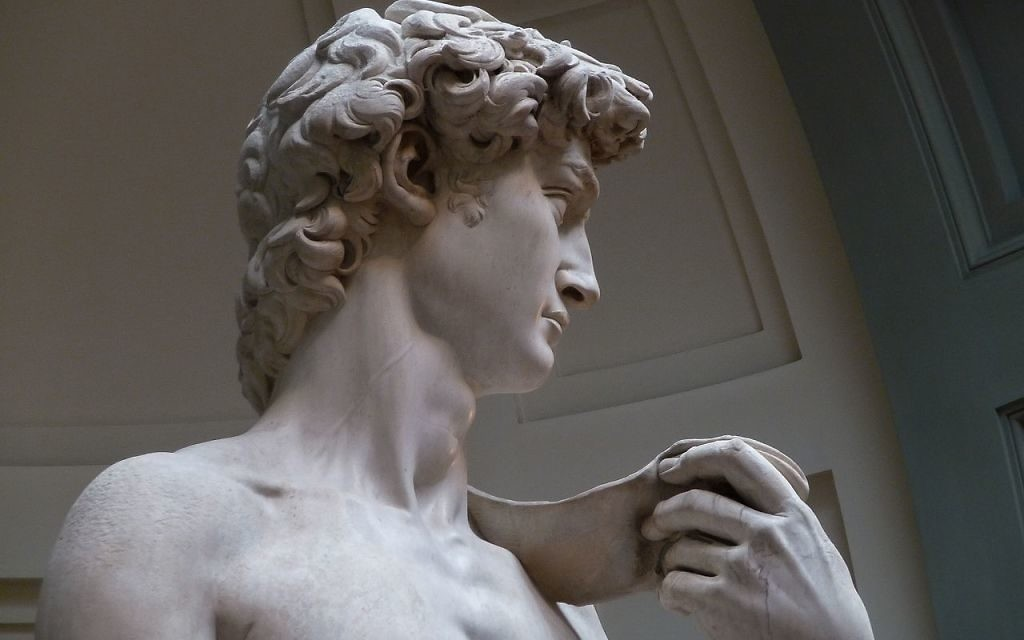 """Michelangelo's """"David"""" is a must-see but not the most memorable part of a visit to Florence. (Photo by Jörg Bittner Unna via Wikimedia Commons)"""