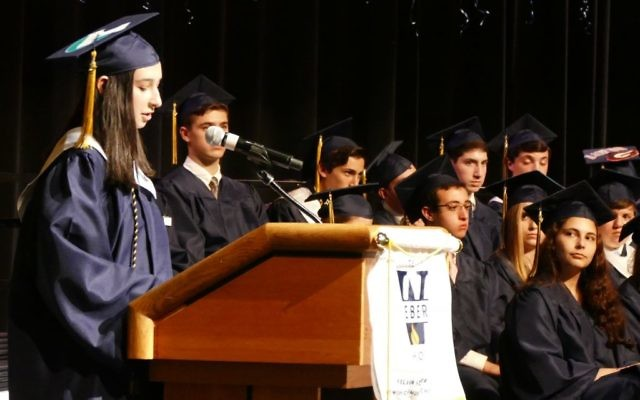 Speaking before an audience is a skill high school students must learn.