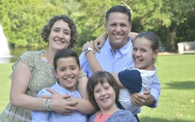 Ilana and Adee Weismark now have three children: Kinneret, 12, Amishai, 10, and Kedem, 7.