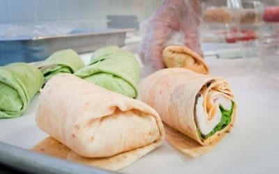 The possibilities for wraps are limitless. (U.S. Department of Agriculture photo)