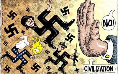 Cartoon by Monte Wolverton, Cagle Cartoons