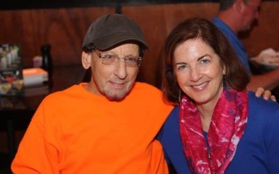 Frank Moiger (left) pictured with longtime friend Ronda Robinson passed away Sept. 12, 2017 after a lengthy battle with Kidney disease.
