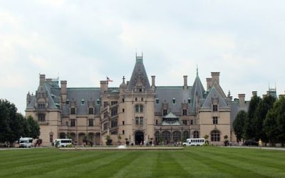 The beautiful Biltmore Estate in Asheville is the largest privately owned home in the nation. (Photo by Jeff Orenstein)