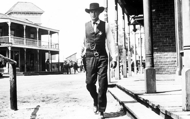"""Bob Bahr will show excerpts from the 1952 Gary Cooper film """"High Noon"""" when he interviews Glenn Frankel at the Book Festival."""