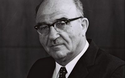 Photo by Israel's Government Press Office Levi Eshkol played an underrated role in Israel's founding and survival.