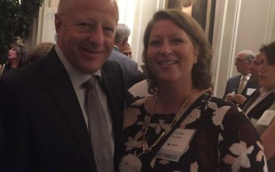 """Marc and Carole Salzburg are members of the host committee for the Birthright dinner. """"All ages need to visit Israel to return and know what they are talking about,"""" Marc said. """"It's our legacy."""""""