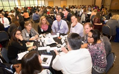 Education leaders, parents, counselors and administrators join forces against anti-Semitism targeting youths at the TASK conference Nov. 8.