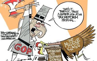 Cartoon by David Fitzsimmons, The Arizona Star