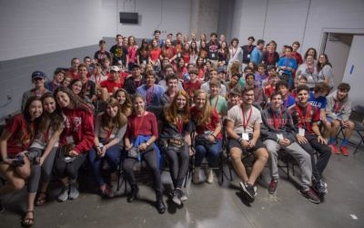 The Atlanta Jewish Teen Initiative kicks off its first engagement by gathering teens across Atlanta for an Atlanta United game. The first JumpSpark intensive session, set for January, will focus on sports.