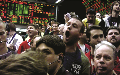 """Computerization is leading to the end of open outcry trading at the Chicago Mercantile Exchange in """"Futures Past."""""""
