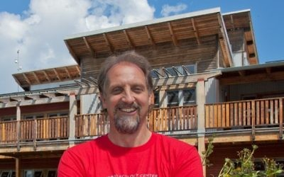 Ken Leinbach is known for commuting to work in Milwaukee by bicycle or kayak.