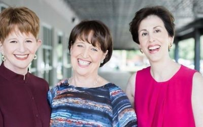 (From left) Sara Franco, Carol Cooper and Ilene Engel founded the Jewish Women's Fund of Atlanta five years ago.