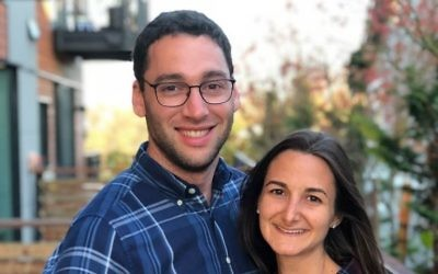 Dr. Jake Greenberg and Dr. Ilyssa Scheinbach married Nov. 11, 2017.