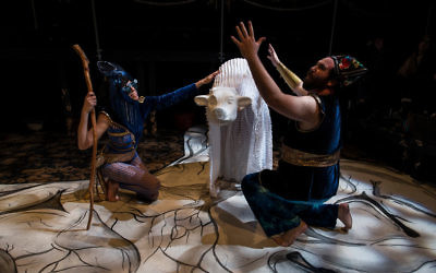 "Photo courtesy of StunGun Photography ""The Followers"" combines dance, opera, puppetry and physical theater to tell the story of Dionysus, the Greek god of wine and ecstasy."