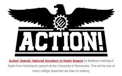 The Traditionalist Worker Party doesn't hide its Nazi aspirations on its website.