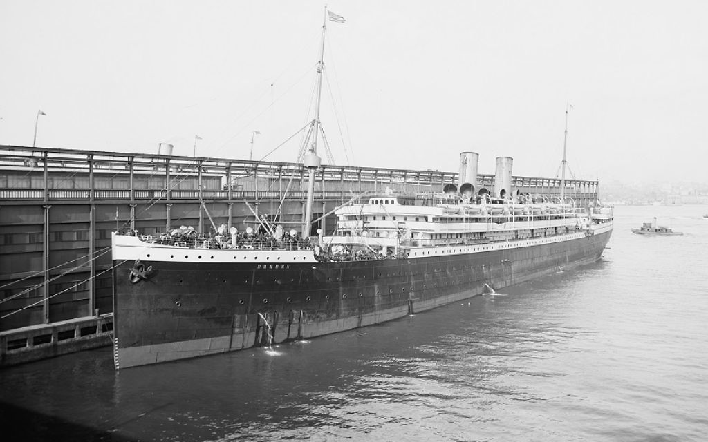 The SS Bremen stops in Hoboken, N.J., in 1905. (Photo courtesy of the U.S. Library of Congress)