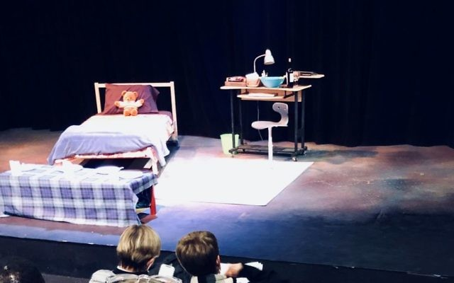 """The set of """"The Mystery of Love & Sex"""" at Out Front Theatre Company"""
