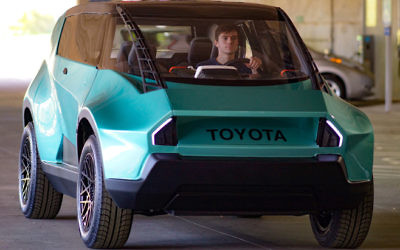CU-iCAR graduate students designed and hand-built Toyota's uBox concept car.