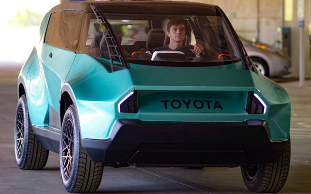 CU-iCAR graduate students designed and hand-built Toyota's uBox concept car.