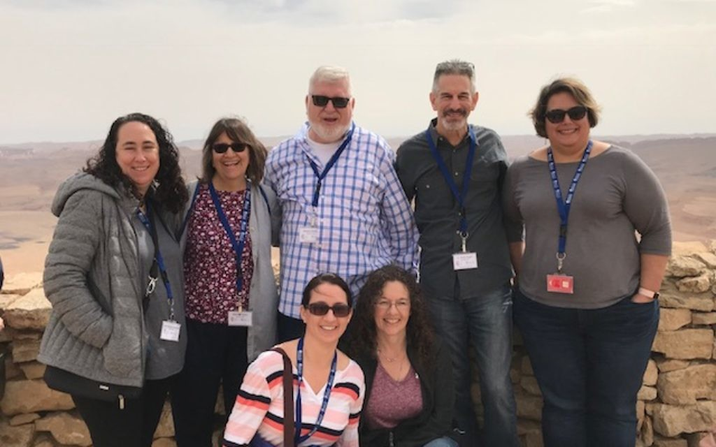 Teachers get to see the beauty of Israel during the recent Jewish Educators Assembly.