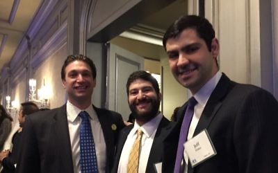 Young leaders Eric Fisher, Scott Zweigel and Jeff Fisher serve on the Southeast ADL board.