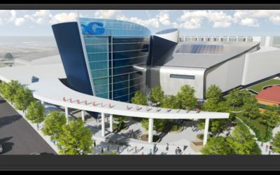 The Georgia Aquarium will get a new entrance and pedestrian walkway by 2020. (Georgia Aquarium rendering)