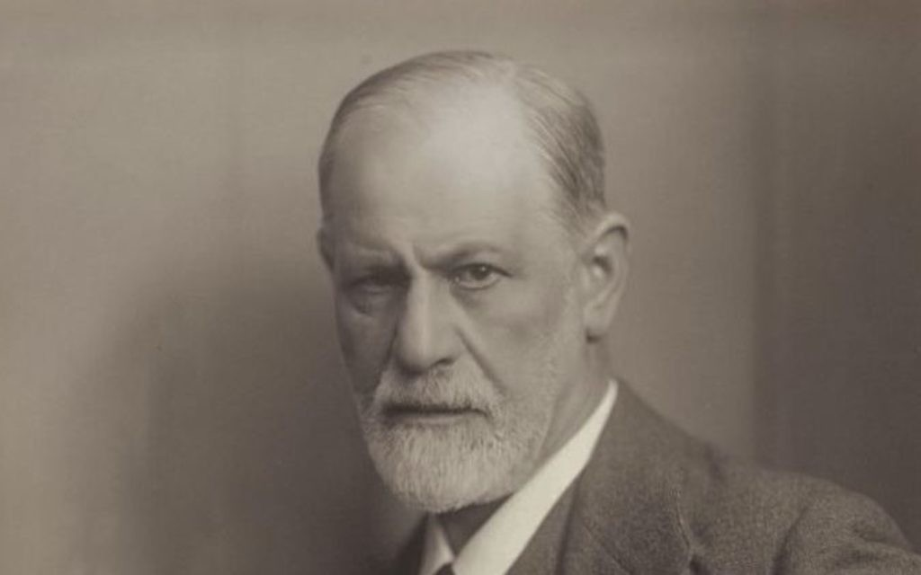 Sigmund Freud is the very figure of a Jew by history but without religion. (Photo by Max Halberstadt, 1921)