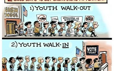 Cartoon by Steve Sack, The Minneapolis Star-Tribune, MN