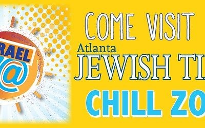 Record your 70--second birthday video at the AJT booth at the Chill Zone on Sunday, April 29.