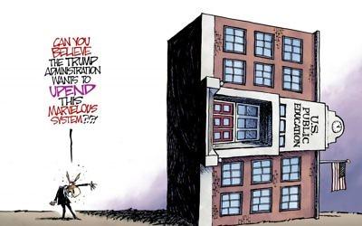Cartoon by Nate Beeler, The Columbus Dispatch, Ohio